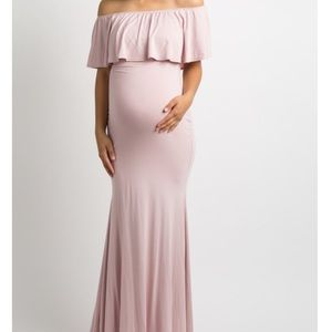 Mermaid Style Blush Maxi